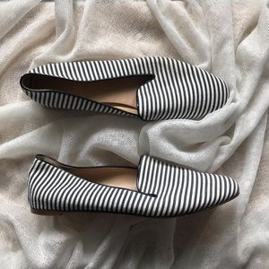 I.Crew Striped Darby Loafer